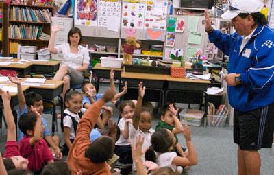 Kids at CFBISD